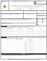 "Form SC2887-A (AS) ""Informative Return With Respect to Returns, Declarations or Refund Claims Specialists Regarding Persons Employed or Contracted During a Tax Return Period"" - Puerto Rico (English/Spanish)"