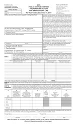 "Form 61A202 ""Public Service Company Property Tax Return for Railroad Car Lines"" - Kentucky, 2020"