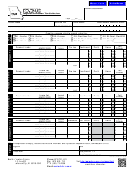 "Form 591 ""Supplier Delinquent Tax Collection"" - Missouri"