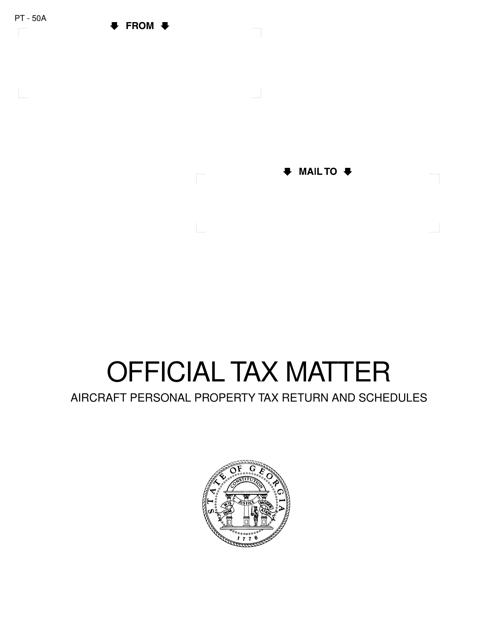 Form PT-50A  Printable Pdf