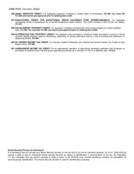 "Form SC1040TC ""Tax Credits"" - South Carolina, Page 6"