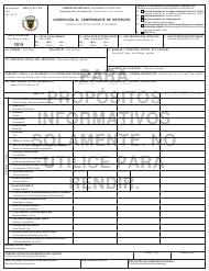 "Form 499R-2C/W-2CPR ""Corrected Withholding Statement"" - Puerto Rico (English/Puerto Rican Spanish), 2019"