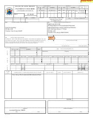"""Payment Voucher (Vendor Invoice)"" - New Jersey"