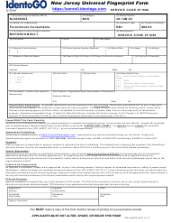 """New Jersey Universal Fingerprint Form - Foreclosure Consultants"" - New Jersey"