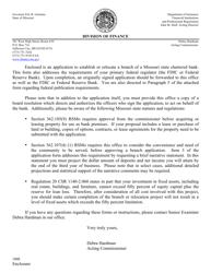 """Uniform Interstate Application/Notice"" - Missouri"