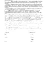 """Non-disclosure Agreement Template"" - California, Page 2"