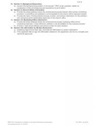 """Form DBPR AR5 """"Application to Qualify Architectural Business Organization"""" - Florida, Page 3"""
