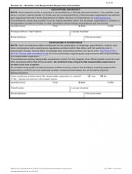 """Form DBPR AR5 """"Application to Qualify Architectural Business Organization"""" - Florida, Page 5"""