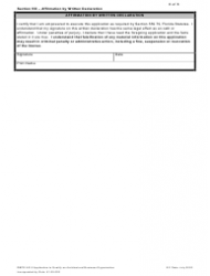 """Form DBPR AR5 """"Application to Qualify Architectural Business Organization"""" - Florida, Page 8"""
