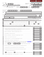 "Form MO-1120 ""Corporation Income Tax Return"" - Missouri, 2019"