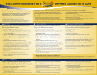 """""""Documents Required for a Driver's License or Id Card"""" - Indiana"""