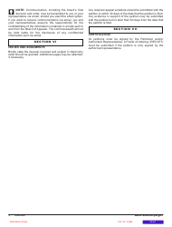"""Form REV-65 """"Board'(of'(appeals Petition'(form"""" - Pennsylvania, Page 4"""