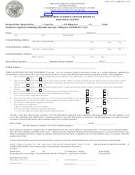 "Form AID-LI-ARF-RTA ""Arkansas Replacement License Renewal for Title Agents"" - Arkansas"