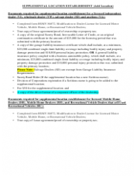"Form HSMV86072 ""Modification to Dealer License for Licensed Motor Vehicle, Mobile Home, or Recreational Vehicle Dealers"" - Florida, Page 3"