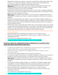 "Form HSMV86072 ""Modification to Dealer License for Licensed Motor Vehicle, Mobile Home, or Recreational Vehicle Dealers"" - Florida, Page 4"