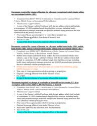 "Form HSMV86072 ""Modification to Dealer License for Licensed Motor Vehicle, Mobile Home, or Recreational Vehicle Dealers"" - Florida, Page 6"