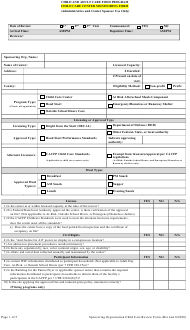 """""""Child Care Center Monitoring Form (Administrative and Center Sponsor Use Only)"""" - Georgia (United States)"""
