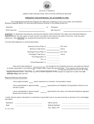 "Form AB1 ""Request for Approval of Attorney's Fee"" - Hawaii"