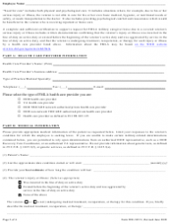"""Form WH-385-V """"Certification for Serious Injury or Illness of a Veteran for Military Caregiver Leave Under the Family and Medical Leave Act"""", Page 3"""