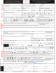 """Form C-3 """"Employer's Report of Industrial Injury or Occupational Disease"""" - Nevada"""