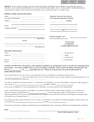 """Form 10822 Appendix XI-B """"Tenancy Summons and Return of Service"""" - New Jersey"""