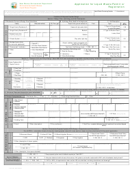 "Form LW401E ""Application for Liquid Waste Permit or Registration"" - New Mexico, Page 2"