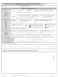 "Form LW401JK ""Unpermitted System Inspection Request & Evaluation Report"" - New Mexico, Page 3"