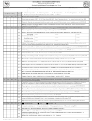 "Form LW203B ""Onsite Liquid Waste Photo Inspection Form"" - New Mexico"