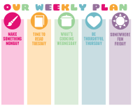 """Weekly Plan Template"""