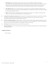"Form ECY070-69 ""Leak Testing Checklist for Underground Storage Tanks (Usts)"" - Washington, Page 6"