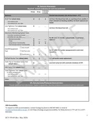 "Form ECY070-69 ""Leak Testing Checklist for Underground Storage Tanks (Usts)"" - Washington, Page 7"