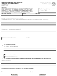 "Form JD-ES-263 ""Grievance/Complaint Filed Under the Americans With Disabilities Act"" - Connecticut"