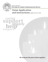 """""""Claim Application"""" - New Jersey"""