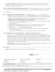 "Form WPF CR84.0400 J ""Felony Judgment and Sentence - Jail One Year or Less"" - Washington, Page 9"