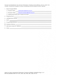 """Form MP240 """"Order for Competency Restoration Treatment (Felony)"""" - Washington, Page 7"""