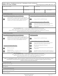 """Form NPPSC1571/1 """"Nppsc Annual Training/Active Duty Training (At/Adt) Checklist"""""""