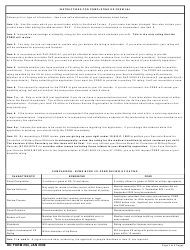 DD Form 294 Application for a Review by the Physical Disability Board of Review (Pdbr) of the Rating Awarded Accompanying a Medical Separation, Page 3