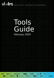 """Tools Guide - Virtual Institute - High Productivity Supercomputing"""