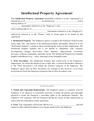 """Intellectual Property Agreement Template"""