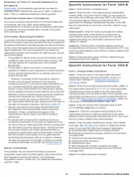 Instructions for IRS Form 1094-B, 1095-B, Page 6