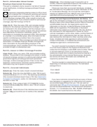Instructions for IRS Form 1094-B, 1095-B, Page 7