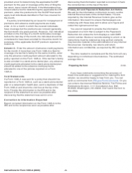 """Instructions for IRS Form 1095-A """"Health Insurance Marketplace Statement"""", Page 3"""
