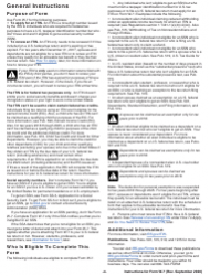 """Instructions for IRS Form W-7 """"Application for IRS Individual Taxpayer Identification Number"""", Page 2"""