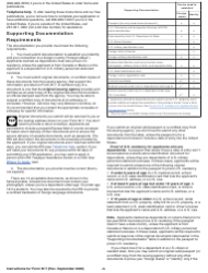 """Instructions for IRS Form W-7 """"Application for IRS Individual Taxpayer Identification Number"""", Page 3"""