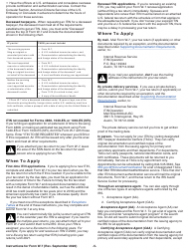"""Instructions for IRS Form W-7 """"Application for IRS Individual Taxpayer Identification Number"""", Page 5"""