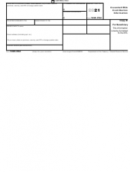 """IRS Form 5498-ESA """"Coverdell Esa Contribution Information"""", Page 2"""