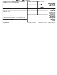 """IRS Form 5498-ESA """"Coverdell Esa Contribution Information"""", Page 4"""