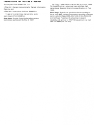 """IRS Form 5498-ESA """"Coverdell Esa Contribution Information"""", Page 5"""