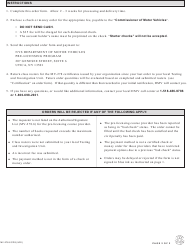 """Form MV-278.8 CDS """"Pre-licensing Course Completion Certificate Order Form for Commercial Pre-licensing Course Providers"""" - New York, Page 2"""
