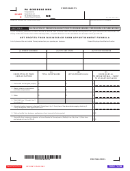 "Form PA-40 Schedule NRH ""Compensation Apportionment"" - Pennsylvania, Page 2"